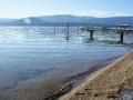 Strandabschnitt Okanagan See