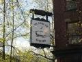 Lustiges Schild  in Gastown