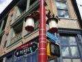 Straßenschild, Chinatown