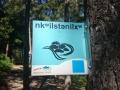 Glen Canyon Schild auf Okanagan
