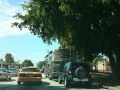 Wohnmobil mit Jeep