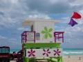 Warnflaggen am Strand