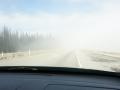 Fahrt durch den Nebel in BC