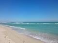 South Beach bei Sonnenschein