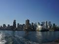 Skyline von der Fähre nach Nord-Vancouver