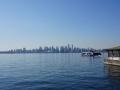 Blick auf Skyline von Nord-Vancouver aus