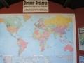 Davison Orchards Weltkarte