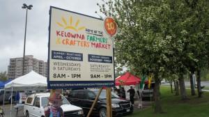 Wochenmarkt Kelowna