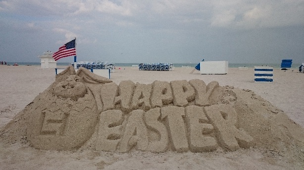 Happy Easter South Beach